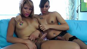 Honey Foxxx, Crossdresser, Futanari, Hermaphrodite, Ladyboy, Shemale