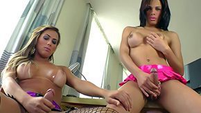 Free Julianna Souza HD porn Bruna Castro Julianna Souza 2 burning seductive seductive trannies with nicely shaped round bags They stroke their meaty dicks following a time give blowjob to each other overweight