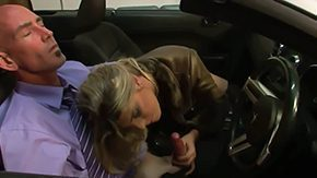 HD Angelina Torres Sex Tube Corrupted shemale harlot Angelina Torres gives blowjob to her regular client betwixt his sports convertible it looks smouldering