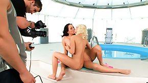 In The Pool, Babe, Best Friend, Brunette, Friend, Lesbian