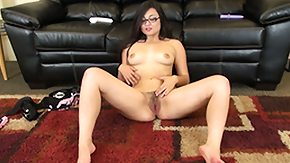 Sophia Jade, Brunette, Fingering, Fur, Hairy, Leggings