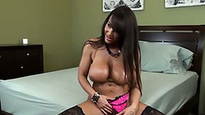 Lisa Ann Boots, Bed, Big Tits, Boobs, Hooters, Huge