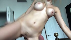 HD Roomate Sex Tube Blondie with big tits rides her roomate's BF further movies it on cam