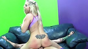 Tattoo, Babe, Blonde, Blowjob, Doggystyle, Hardcore