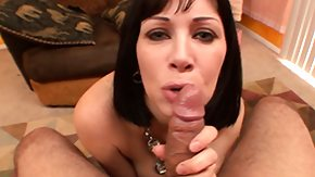 Nasty, Angry, Big Cock, Blowjob, Brunette, Cum in Mouth