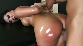 Wide Open, Asian, Ass, Blowjob, Brunette, Massage