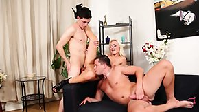 First, 3some, Babe, Blonde, Blowjob, Group
