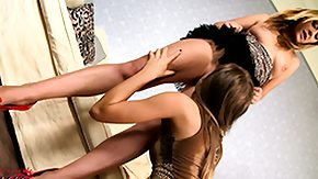 Stiletto, Ass, Ass Licking, Babe, Blonde, Boots