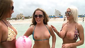 Beach, 3some, Amateur, Beach, Beauty, Blonde