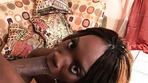 On Her Knees, Black, Blowjob, Ebony, Fingering, Hardcore