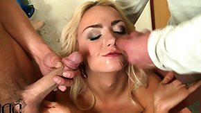 Czech, 3some, Beaver, Blonde, Blowjob, Bush