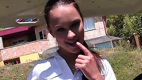 Tits Milk, Boobs, Brunette, French Teen, Masturbation, Outdoor