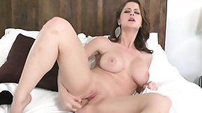 Tiny, Beauty, Bed, Big Tits, Boobs, Brunette