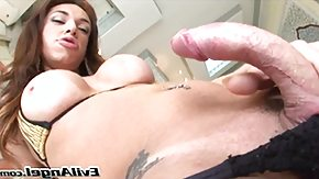 Solo HD tube curved cock TV @ house of she-males #11