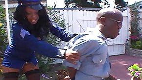 Police, Black, Blowjob, Cop, Midget, MILF