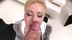 Leash, Big Cock, Blonde, Blowjob, High Definition, Huge