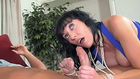 Mother Teaches, Anal, Aunt, Ball Licking, Bed, Bend Over
