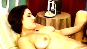 Vintage Cumshot, Antique, Bed, Big Cock, Big Pussy, Big Tits
