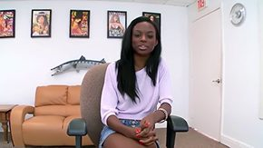 Tiffany Sweet, Amateur, Audition, Backroom, Backstage, Ball Kicking