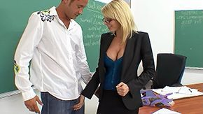 Free Holly Sampson HD porn videos Can you keep secret So you can fuck your teacher blonde glasses lingerie facefucking classroom stockings black desk loaded boobs office sex robed moan tongue